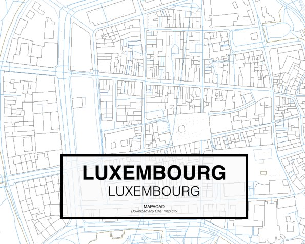 Luxembourg-Luxembourg-03-Mapacad-download-map-cad-dwg-dxf-autocad-free-2d-3d