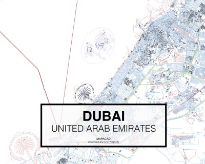 Download Dubai DWG - Mapacad
