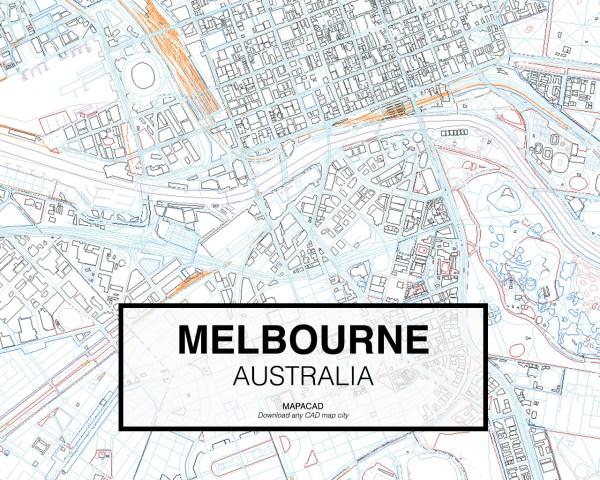 Melbourne-Australia-03-Mapacad-download-map-cad-dwg-dxf-autocad-free-2d-3d