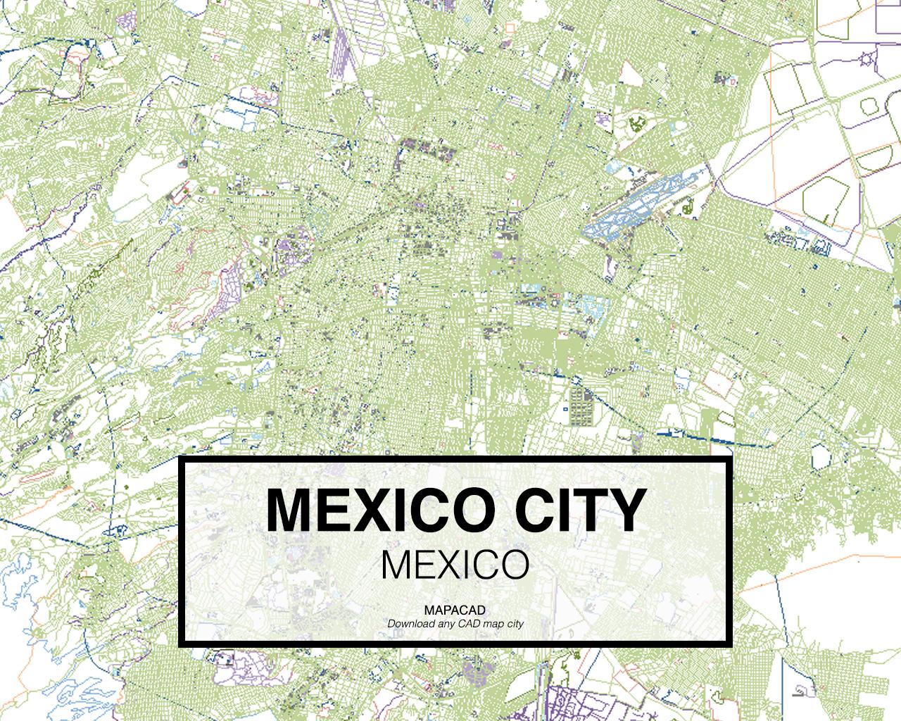 mexico mexico 01 mapacad download map cad dwg