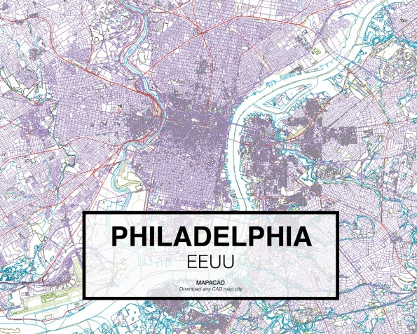 Philadelphia-EEUU-01-Mapacad-download-map-cad-dwg-dxf-autocad-free-2d-3d