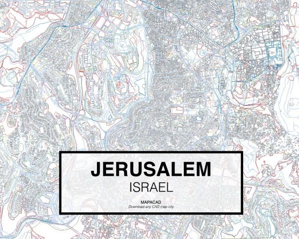 Jerusalem-Israel-02-Mapacad-download-map-cad-dwg-dxf-autocad-free-2d-3d