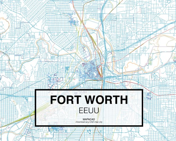 Fort-Worth-EEUU-01-Mapacad-download-map-cad-dwg-dxf-autocad-free-2d-3d