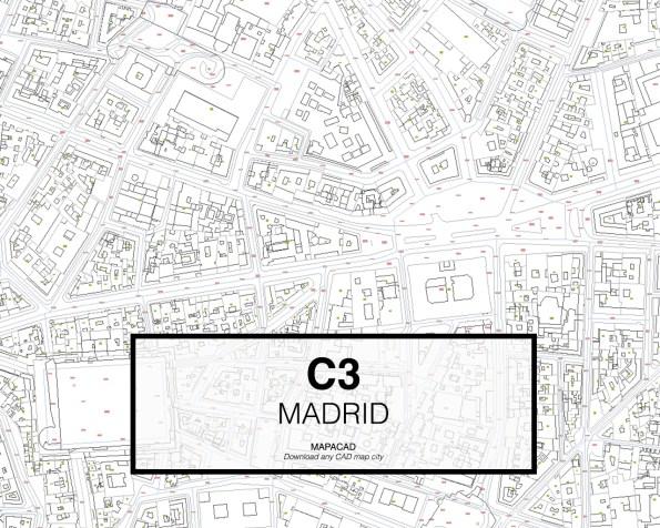 c3-03-madrid-cartografia-dwg-autocad-descargar-dxf-gratis-cartografia-arquitectura