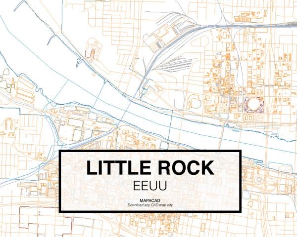 Little-Rock-EEUU-03-Mapacad-download-map-cad-dwg-dxf-autocad-free-2d-3d