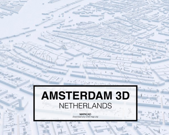 Amsterdam-Netherlands-01-3D-Mapacad-download-map-cad-dwg-dxf-autocad-free-2d