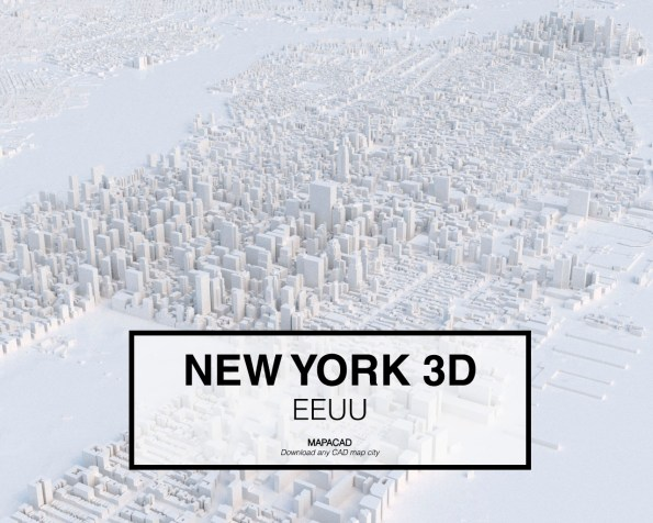 New York-01-3D-model-download-printer-architecture-free-city-buildings-OBJ-vr-mapacad