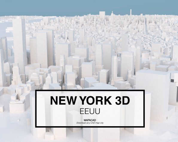 New York-04-3D-model-download-printer-architecture-free-city-buildings-OBJ-vr-mapacad