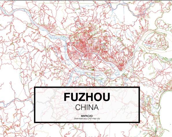Fuzhou-China-01-Mapacad-download-map-cad-dwg-dxf-autocad-free-2d-3d