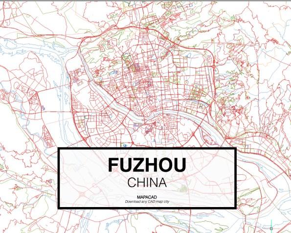 Fuzhou-China-02-Mapacad-download-map-cad-dwg-dxf-autocad-free-2d-3d