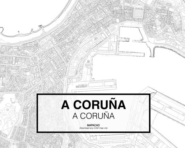 A Coruña-A Coruña-02-Mapacad-download-map-cad-dwg-dxf-autocad-free-2d-3d