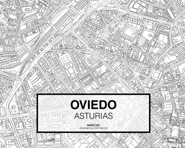 Oviedo-Asturias-03-Mapacad-download-map-cad-dwg-dxf-autocad-free-2d-3d