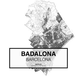 Badalona-Barcelona-01-Mapacad-download-map-cad-dwg-dxf-autocad-free-2d-3d