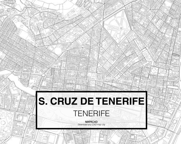 Santa Cruz de Tenerife-02-download-map-cad-dwg-dxf-autocad-free-2d-3d