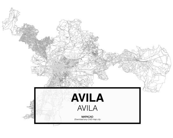 Avila-Avila-01-Mapacad-download-map-cad-dwg-dxf-autocad-free-2d-3d