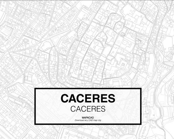 Caceres-Extremadura-03-Mapacad-download-map-cad-dwg-dxf-autocad-free-2d-3d