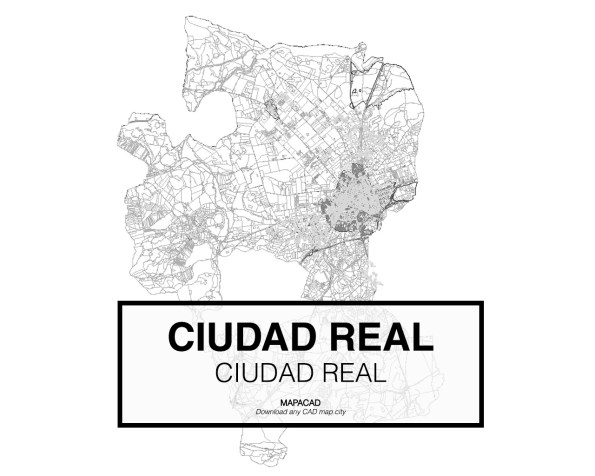 Ciudad Real-Castilla La Mancha-01-Mapacad-download-map-cad-dwg-dxf-autocad-free-2d-3d