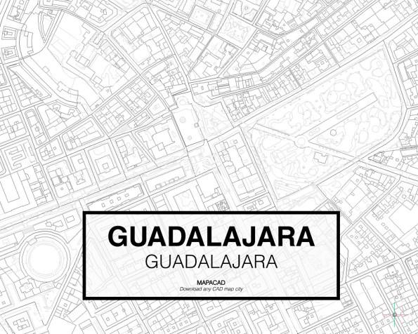 Guadalajara-Castilla-03-Mapacad-download-map-cad-dwg-dxf-autocad-free-2d-3d