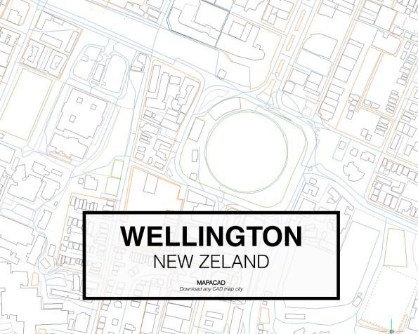 Wellington-New Zeland-03-Mapacad-download-map-cad-dwg-dxf-autocad-free-2d-3d