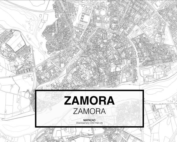 Zamora-Castilla Leon-02-Mapacad-download-map-cad-dwg-dxf-autocad-free-2d-3d