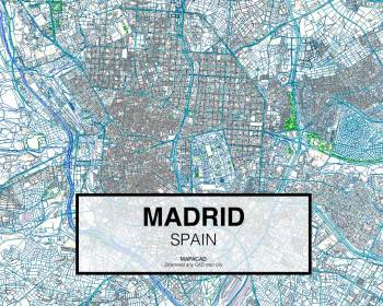 Madrid-Spain-01-Mapacad-download-map-cad-dwg-dxf-autocad-free-2d-3d-low
