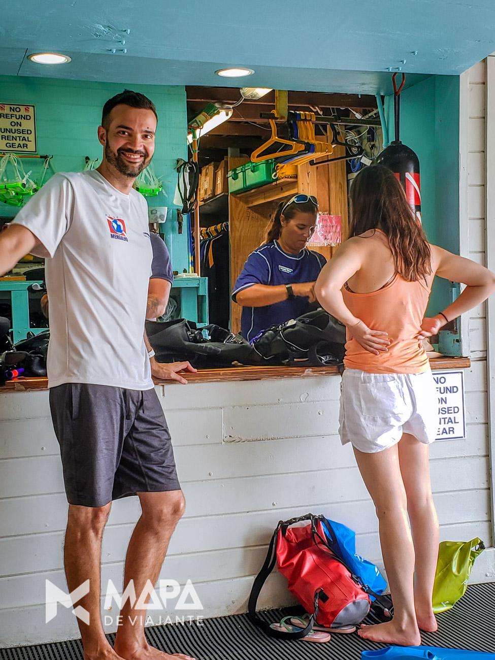 Como é mergulhar em Key Largo