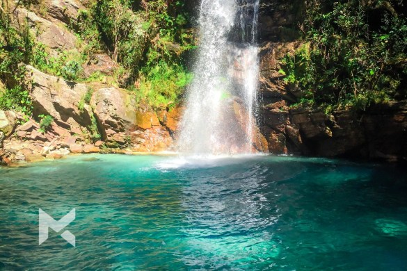Cachoeira Santa Barbara, Cavalcante - GO