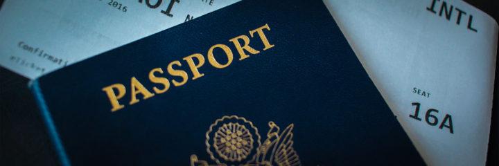 Passaporte Mapa de Viajante