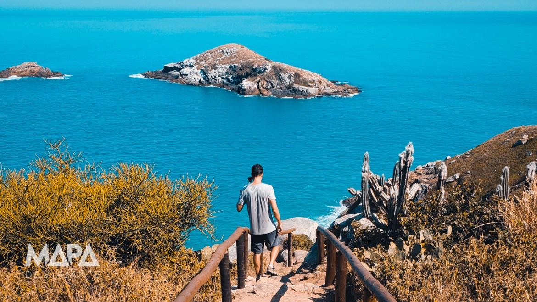 Escada dos Desejos em Arraial do Cabo   Lago do Amor