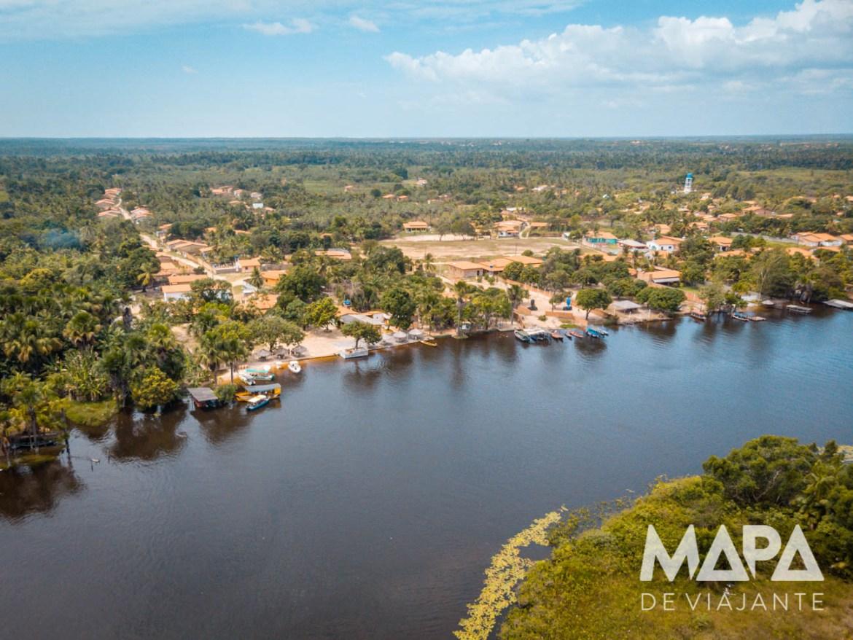 Rio Preguiças Tapuio Casa da Farinha