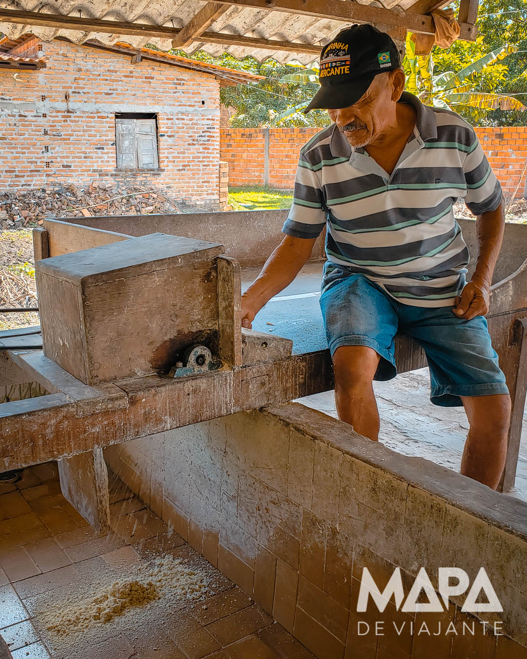 Lençóis Maranhenses Tapuio Casa da Farinha