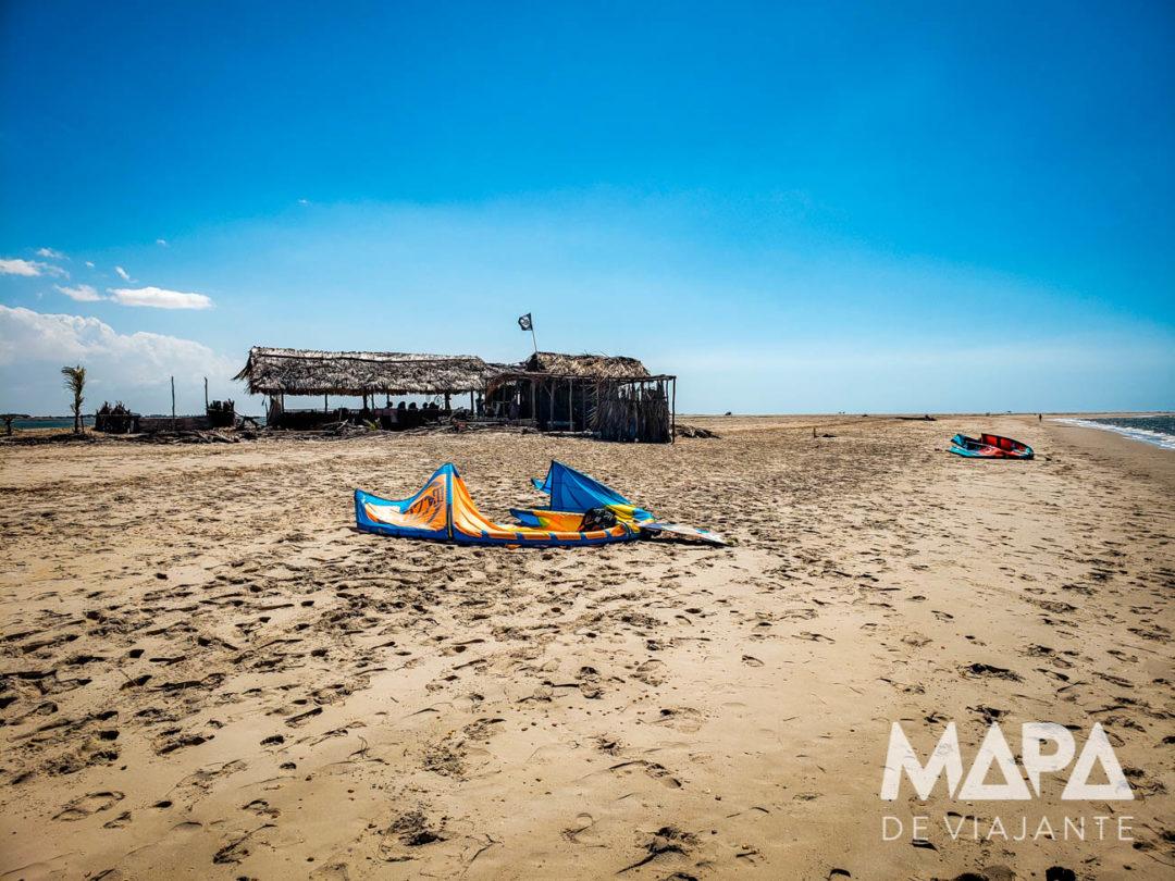 Praia de Cuba em Atins