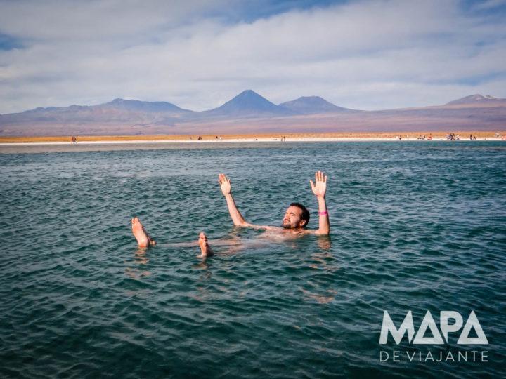 Lagoa Cejar no Atacama não afunda