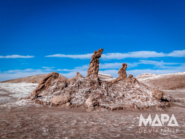Três Marias Vale da Lua Deserto no Chile