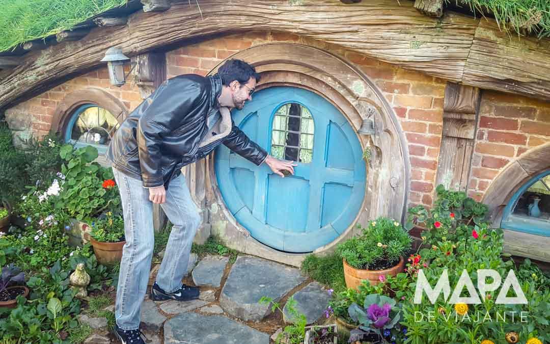 Hobbiton Set de Filmagem Nova Zelândia