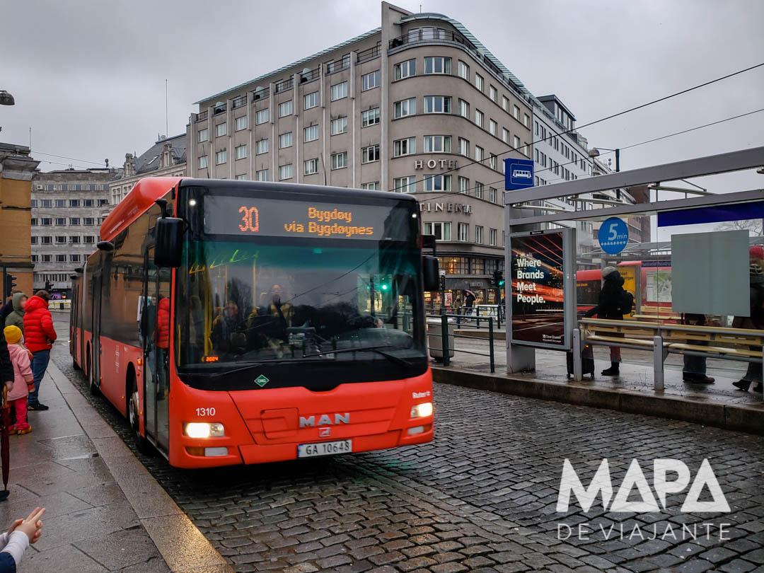 Dicas Transporte na Noruega