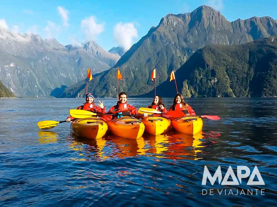 Caiauqe Milford Sound Nova Zelândia