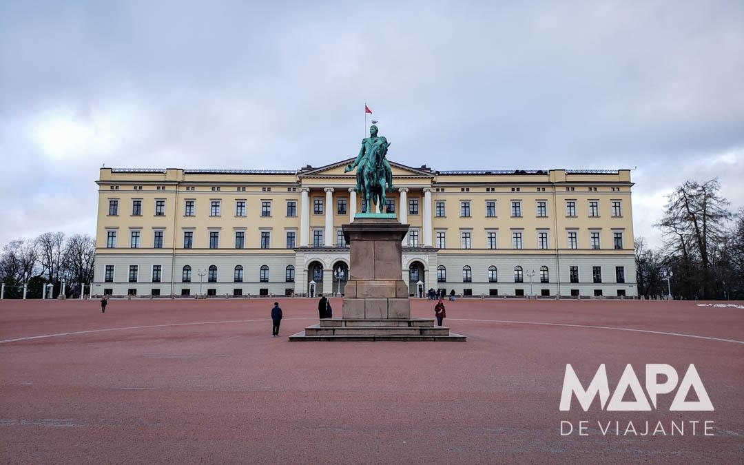 Palácio Real em Oslo Noruega