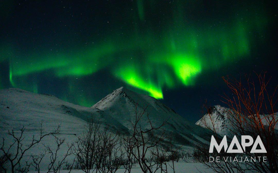 onde viajar dezembro Aurora Boreal Noruega