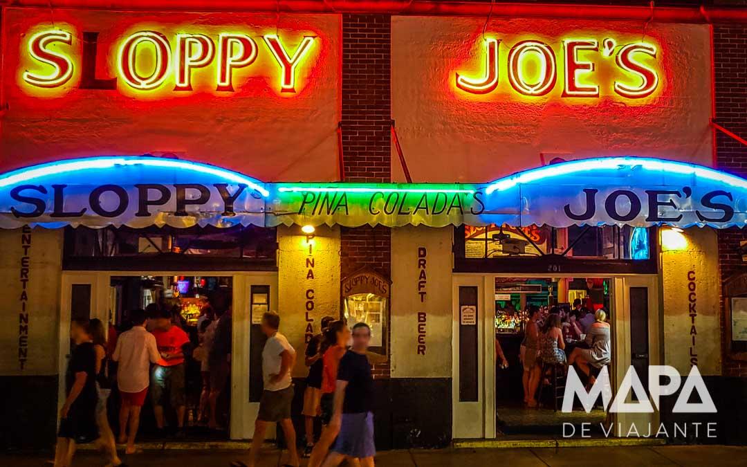 Onde ir Sloppy's Joe