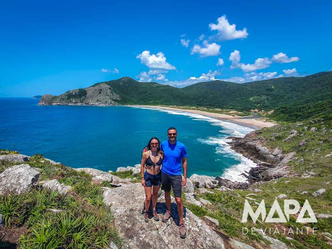 Trilha do Matadeiro até a Praia da Lagoinha Leste | Praias de Florianópolis | Mapa de Viajante
