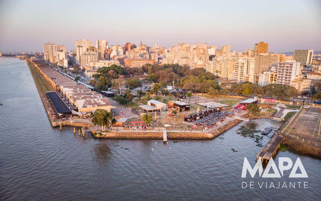 Orla do Guaíba Cais Embarcadero Porto Alegre