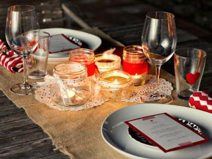 Mesa de jantar - Imagem no Pinterest de Nossas Bodas