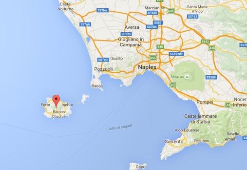 ischia google maps