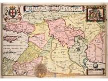 Paradise Garden Of Eden Bible Map Moxon 1714