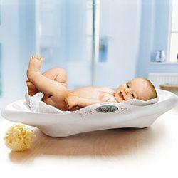 Прибавка веса у новорожденного
