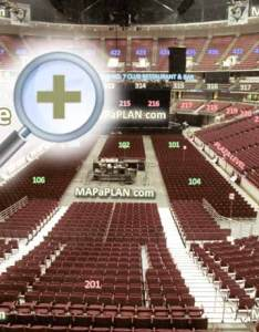 View from section row  seat virtual venue  interactive interior tour inside picture also honda center  numbers detailed seating chart anaheim rh mapaplan