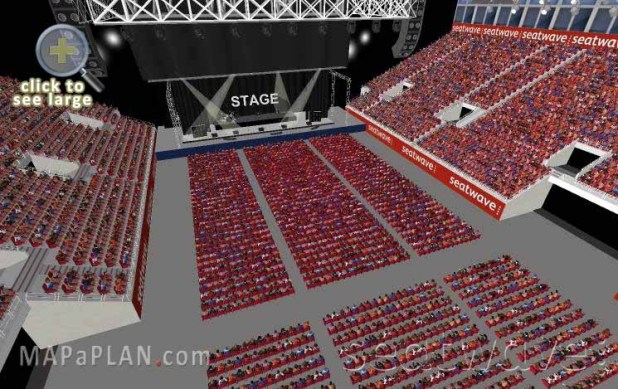 Barclay arena seating plan birmingham for Barclays floor plan