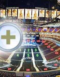 row seat virtual interactive  behind stage tour  inside pictures without general admission ga chicago united center seating chart also numbers detailed plan mapaplan rh