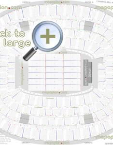 Detailed seat row numbers end stage concert sections floor plan map virtual  interactive layout dallas also at   stadium seating chart rh mapaplan